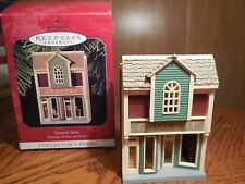 "1998 Hallmark Ornament ""Grocery Store""-  # 15 in Nostalgic Houses & Shops series"