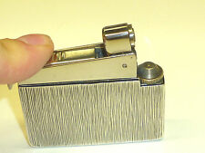 KW (KARL WIEDEN) CLASSIC GAS LIGHTER WITH 925 SILVER CASE - 1960 - GERMANY -NICE