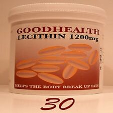 """LECITHIN 1200mg   1 Month Supply  (30 capsules) """"Goodhealth Product""""  (P)"""