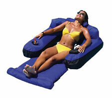New Swimline 9047 Swimming Pool Fabric Inflatable Ultimate Floating Lounger