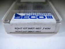 ! FACTORY PACK ! SECO RDHT10T3M0T FACE MILLING END MILL CARBIDE INSERTS TOOLS