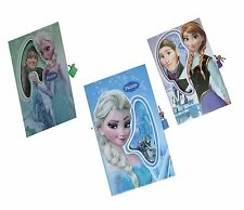 1 x Frozen Colourful Lockable Diary Kids Girls Gift With Frozen Box Case Assort