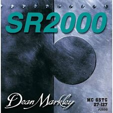Dean Markley 2698 SR2000 6-String Medium Custom Bass Guitar Strings 27-127