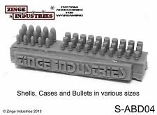 Zinge Industries Bullets Shells and Spent Casings 45 High Quality Rounds S-ABD04