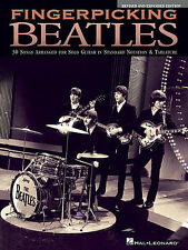 BEATLES FINGERPICKING GUITAR TAB SHEET MUSIC SONG BOOK