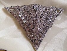 Magnificent! Antique Art Deco Dress Clip!