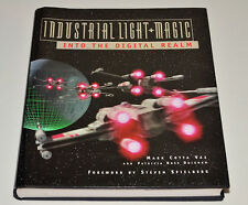 "GEORGE LUCAS Signed ""Industrial Light & Magic"" Hardback Book RARE SIGNED"