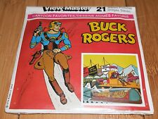 * MINT / FACTORY SEALED * BUCK ROGERS 1978 GAF VIEW MASTER REELS RARE - VINTAGE