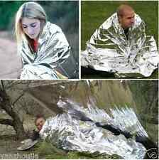 Waterproof Emergency Survival Rescue Space Foil Thermal Blanket First Aid Camp