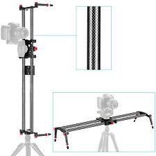 "Neewer 31.5""/80cm Carbon Fibre Camera Track Dolly Slider Rail System"