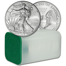 2016 American Silver Eagle (1 oz) $1 - 1 Roll - Twenty 20 BU Coins in Mint Tube