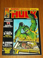RAMPAGE #10 1979 APRIL BRITISH MAGAZINE MARVEL HULK
