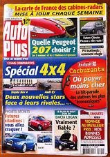 AUTO PLUS du 2/05/2006; Essai Cmparatifs Spécial 4x4/ Dacia LOgan/ Les 207