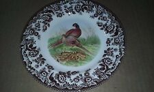 """Spode Woodland Pheasant: Salad Plate (s), 7.75"""", NEW"""