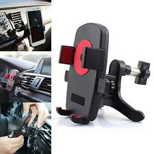 360°Universal Car Air Vent Mount Cradle Holder Stand for Smart Cell Phone GPS SC