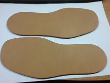 Mens Leather Through Sole Size 12. Perfect for DIY shoe repair