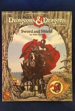 Dungeons and Dragons 1992 D&D AD&D SWORD AND SHIELD TSR 9387 Map Rare Module EXC