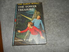 VINTAGE BOOK - THE HARDY BOYS - THE TOWER TREASURE  - 1959