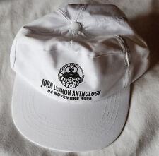 The BEATLES baseball cap John Lennon ANTHOLOGY 1998 cappello promo white