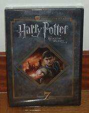 HARRY POTTER-LAS RELIQUIAS DE LA MUERTE-2º PARTE-NUEVO-PRECINTADO-2 DVD-SEALED