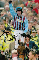 JIM CULLOTY HAND SIGNED 6X4 PHOTO 2004 BEST MATE GOLD CUP.