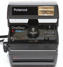Vintage Polaroid One Step Close Up Instant 600 Film Camera Fully Operational