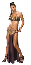 PRINCESS LEIA Slave Costume Outfit Adult Small Sexy STAR WARS FIGURE NEW 1