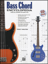 BASS Chord Encyclopedia BASS chitarra CHORD Book con CD per 4-String & 5-String