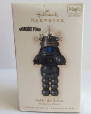 2009 Hallmark Robby The Robot Magic Light And Sound Ornament