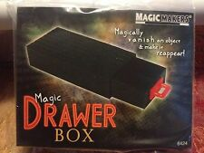 Drawer Box - Make Small Objects Appear and Disappear - The Magic Drawer Box