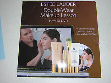 ESTEE LAUDER DOUBLE WEAR MAKEUP LESSON  DVD HOW TO USE A BRUSH TO APPLY MAKEUP