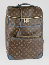 Louis Vuitton Monogram Canvas Blue Cuir Ombre Leather Slate Backpack Bag