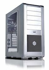 SilverStone FT01S-W Aluminum ATX Mid Tower Uni-Body Computer Case