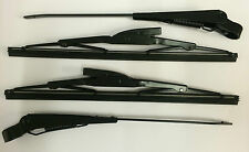"Land Rover Series 2, 2a & 3 88"" 109"" Wiper Arms & Blades Set"