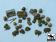 German equipment accessories set, T48025, BLACK DOG, 1:48