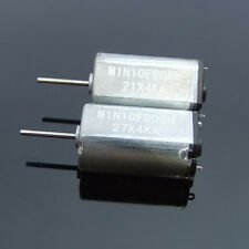 2x long axis N30 motor Low-voltage start Mute 1.5-6V DC micro-motor 18000 rpm