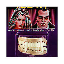 Vampiro falso Dientes Con Colmillos Conde Dracula Halloween Monster Fancy Dress