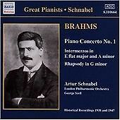 Johannes Brahms - Brahms: Piano Concerto No. 1; Intermezzos in E flat major & A