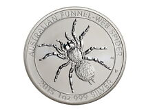 Funnel web spider araña 1 Oz 999 2015 plata moneda de plata Perth Mint raras