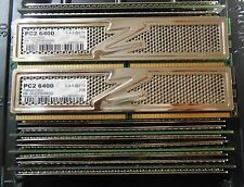 OCZ 8GB (4 X 2GB) DDR2 PC2-6400 800Mhz DESKTOP MEMORY 2.1V PLATINUM