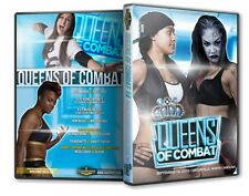 Queens of Combat Wrestling 14 DVD-R, Nicole Savoy Su Yung Shine Shimmer Evolve