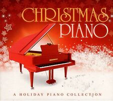 CHRISTMAS PIANO: A Holiday Piano Collection INSTRUMENTAL DINNER PARTY MUSIC OOP!