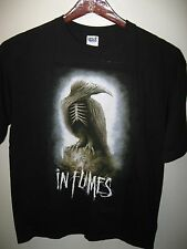 In Flames InFlames Swedish Metal Rock Band 2012 American Concert Tour T Shirt Lg