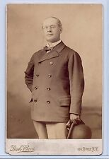 Actor Richard Mansfield Cabinet Photo: Famous for Role in Dr Jekyll and Mr Hyde