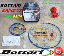 CATENE DA NEVE 9mm DACIA LOGAN/ LOGAN MCV/ PICK UP GOMME 165/80R14 GR.60 BOTTARI