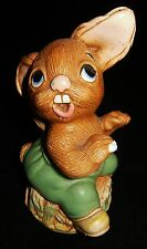 "Vintage PENDELFIN ""The Thumper"" Rabbit Figurine c 1960's Green Shorts"