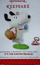 Hallmark 2014 Happiness is Peanuts All Year Long IT'S THE EASTER BEAGLE SNOOPY