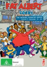 Fat Albert and the Cosby Kids Volume 2 New DVD Region ALL Sealed 2 Disc Set