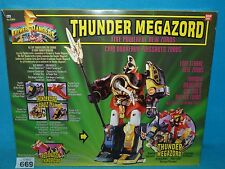 Power Rangers Mighty Morphin MMPR Thunder megazord en caja 669