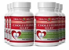 Cholesterol Test Cholesterol Relief Supplement with Policosanol 6 Bottles